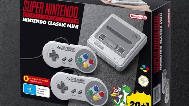 SNES Mini utiliza el mismo hardware que la NES Mini