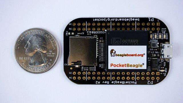 PocketBeagle, el ordenador más pequeño del mundo que cuesta 25 dólares
