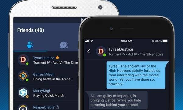 Blizzard estrena la aplicación para móviles de Battle.net