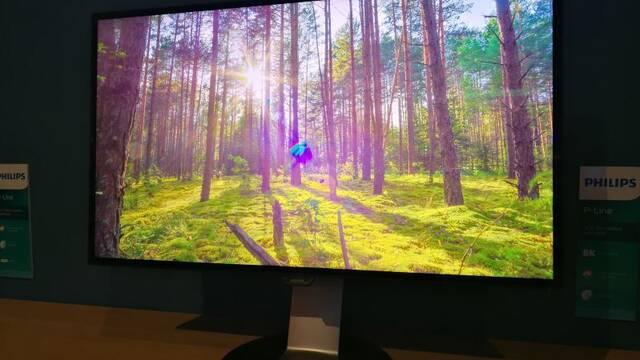 Philips lanzará en 2018 un monitor 8K de 32 pulgadas