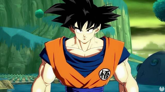 Así es Goku en Dragon Ball FighterZ