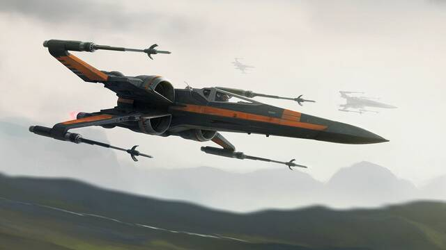 El X-Wing de Poe Dameron incluye mejoras en Star Wars Los últimos Jedi