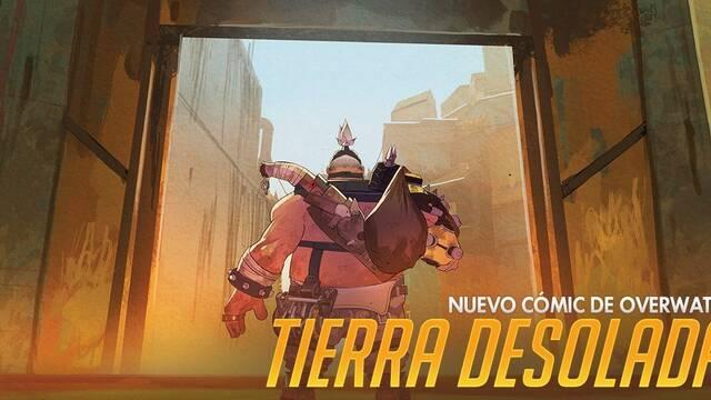 Ya disponible Tierra Desolada, el nuevo cómic de Overwatch