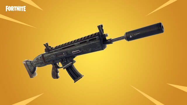Fortnite y su actualización 5.40 nos trae el fusil con silenciador