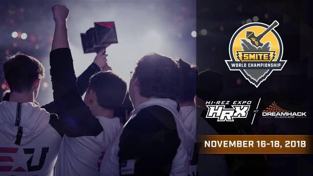 DreamHack Atlanta acogerá los Mundiales de SMITE y Paladins