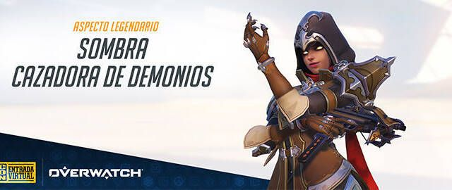 Sombra recibe un aspecto legendario con la entrada virtual de la Blizzcon 2018