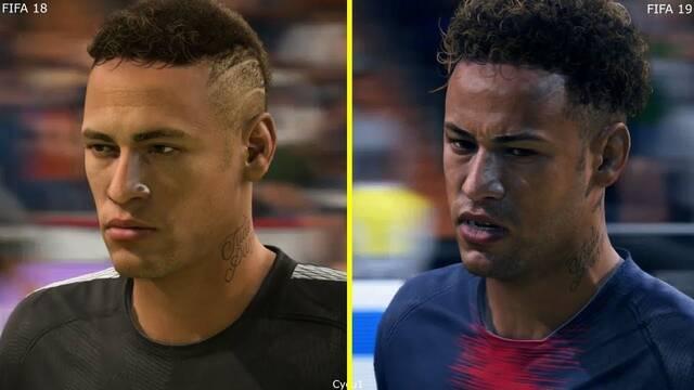 Comparativa gráfica: FIFA 18 Vs FIFA 19