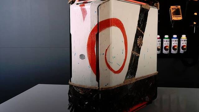 El PC Modding de los viernes: Un ordenador… de God of War