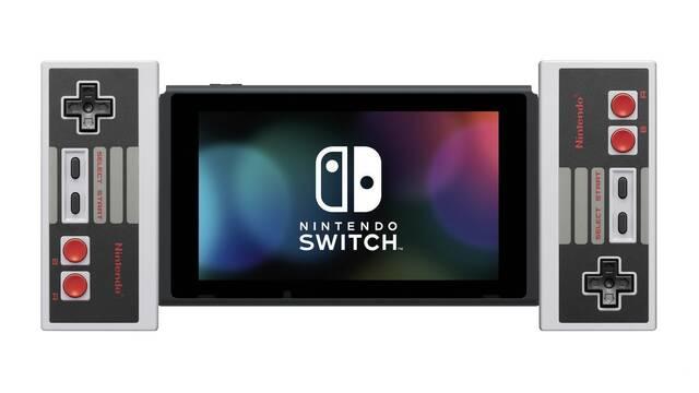 Nintendo lanzará unos mandos inalámbricos de NES para Switch