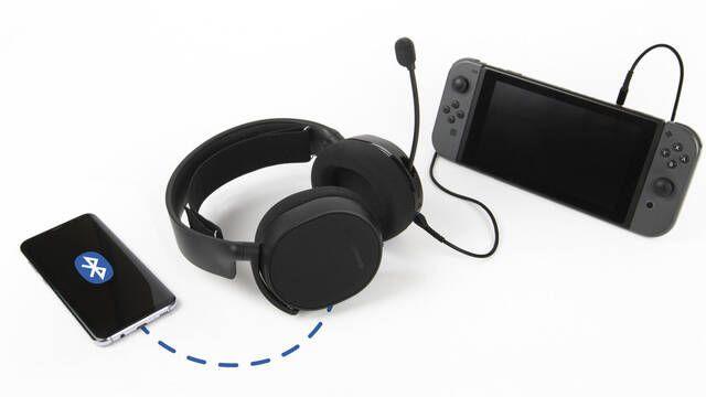 Arctis 3 Bluettooth, los auriculares para conectar a la vez a  Switch y  Switch Online