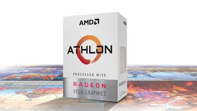 El Athlon 200GE con gráficos Vega de AMD ya está a la venta