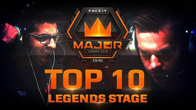 TOP 10: Las mejores jugadas del Legends Stage del Faceit London Major