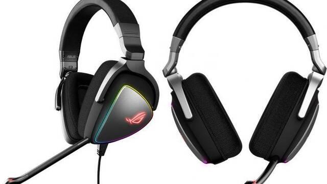 ASUS lanza sus nuevos auriculares ROG Delta y ROG Delta Core
