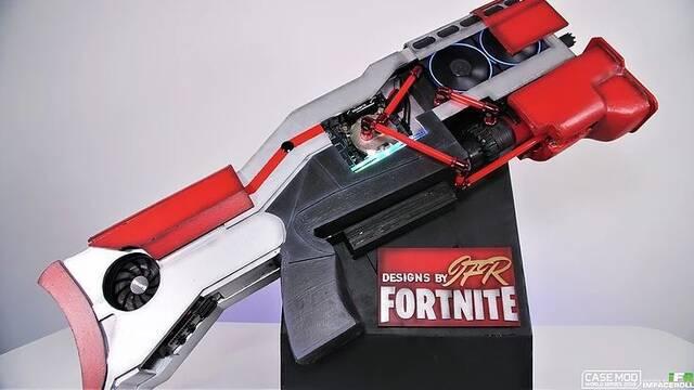 El PC Modding de los viernes: una escopeta de Fortnite hecha PC