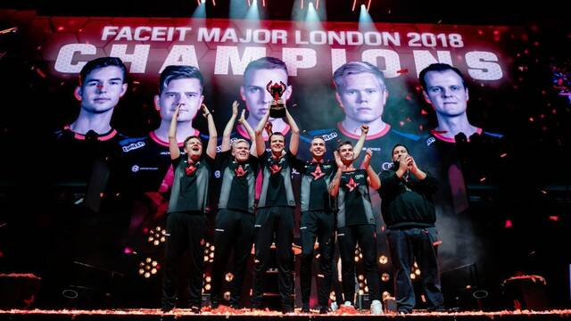 Astralis se proclama campeón del Faceit London Major de CS:GO