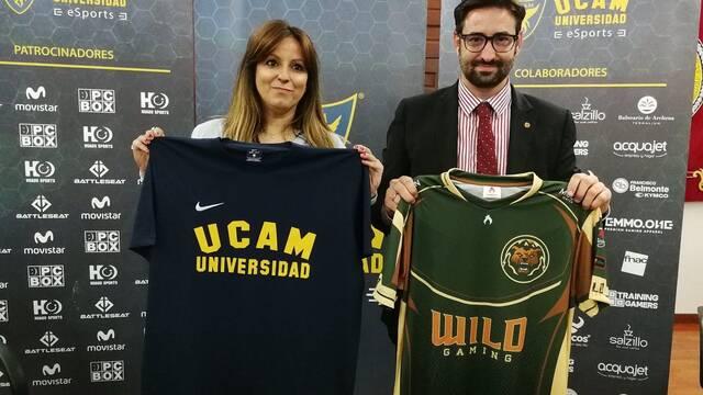 UCAM y Wild Gaming firman un acuerdo de formación y promoción en los esports