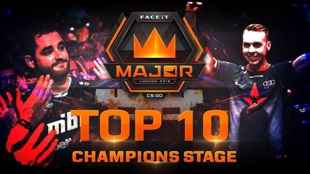 TOP 10: Las mejores jugadas de los playoffs del Faceit London Major
