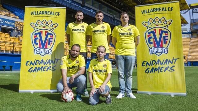 El Villlarreal CF presenta a sus equipos de FIFA 19 y Rocket League