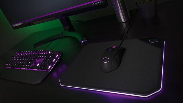 Cooler Master lanza su alfombrilla MP860 de doble cara
