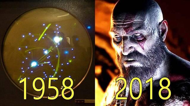 La evolución gráfica de los videojuegos: de 1958 al 2018