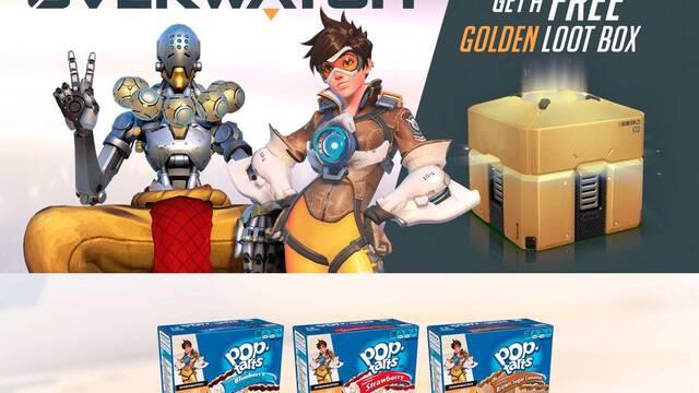 Kelloggs y Overwatch se alían para regalar una caja dorada… ¡si compras tartas!
