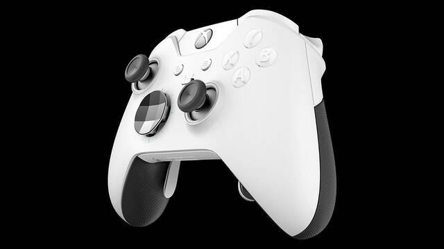 Unboxing del mando Elite Xbox en blanco