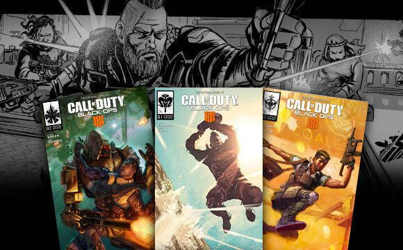 Ya puedes leer los cómics digitales de Call of Duty: Black Ops 4