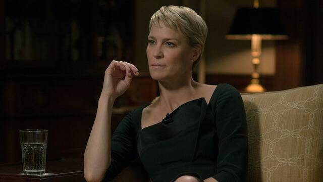 Claire Underwood nos enseña quién manda en la Casa Blanca de House of Cards