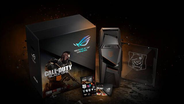 ASUS presenta el ordenador y periféricos oficiales de Call of Duty Black Ops 4