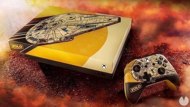 Así es la alucinante Xbox One X de Star Wars que sortea Microsoft