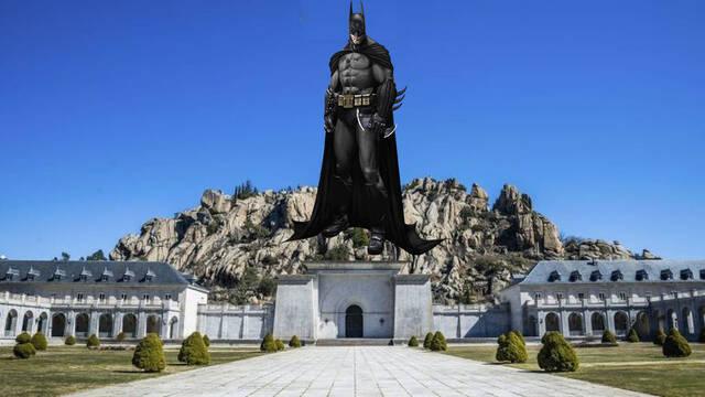 Piden colocar una estatua de Batman en el Valle de los Caídos