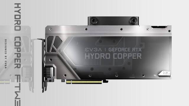EVGA presenta sus GeForce RTX 2080 y 2080 Ti con refrigeración líquida e híbrida