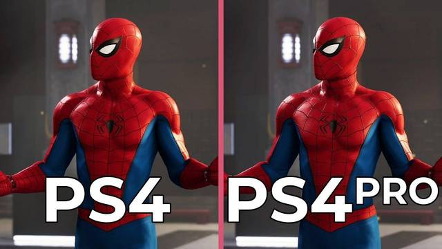Así se ve Spider-Man en PS4 y PS4 Pro