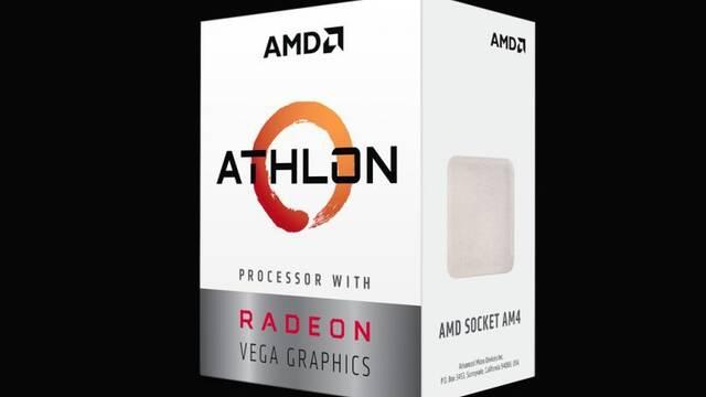 AMD presenta sus nuevos procesadores Athlon basados en Zen con gráficos Vega