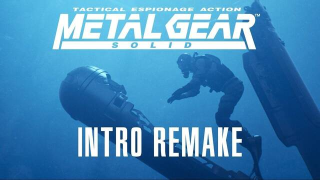 Recrean la intro de Metal Gear Solid en Unreal Engine 4