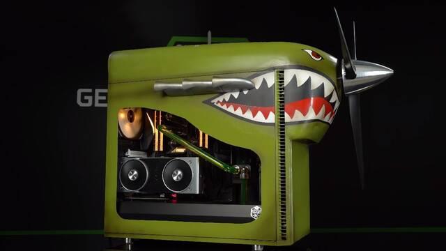 El PC Modding de los viernes: un ordenador convertido en avión de Battlefield V