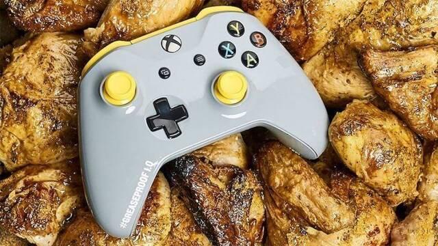 """Llega el mando de Xbox One """"anti grasa de pollo"""""""