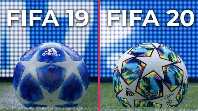 Comparativa gráfica FIFA 20 VS FIFA 19