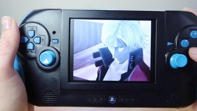 Crean una PS2 portátil para disfrutar de sus juegos clásicos en cualquier parte