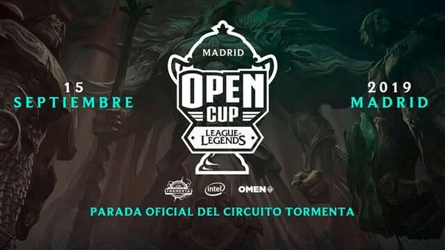La Madrid Open Cup de League of Legends se celebrará este fin de semana