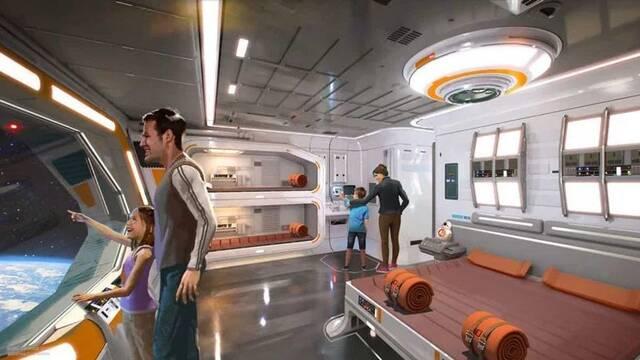 Disneyland: El hotel temático de Star Wars tiene precios galácticos