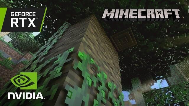 Nuevo vídeo de Minecraft con y sin Ray Tracing