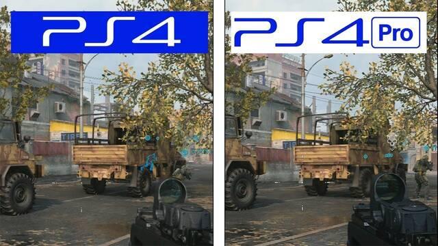 Call of Duty Modern Warfare Beta: Comparativa gráfica entre PS4 y PS4 Pro