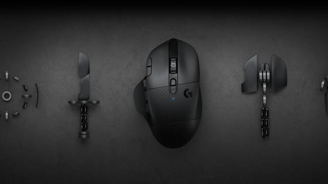 Logitech G presenta su nuevo ratón inalámbrico G604 Lightspeed