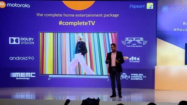 Motorola también entra en el mercado de las Smart TV