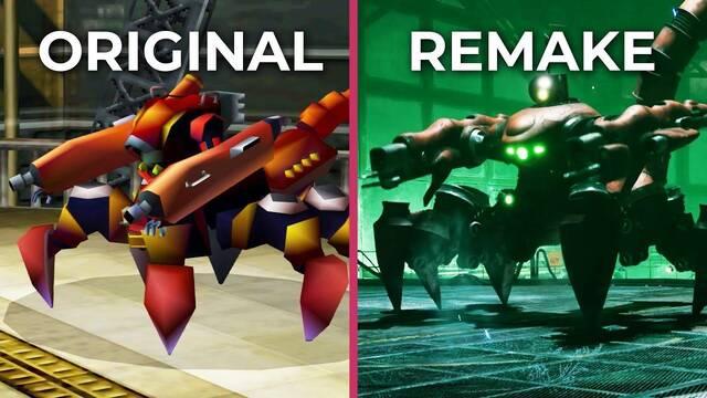 Comparativa gráfica: Final Fantasy VII original VS. Final Fantasy VII Remake