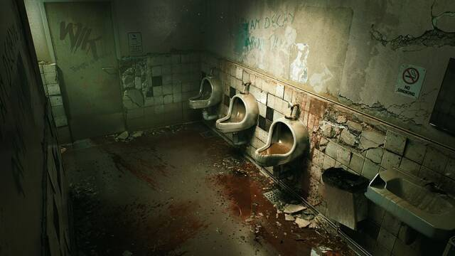 Así se ve el baño de Silent Hill 2 con Unreal Engine 4 y Ray Tracing