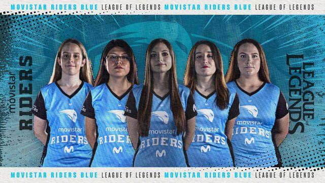 Movistar Riders presenta su nuevo equipo femenino de League of Legends