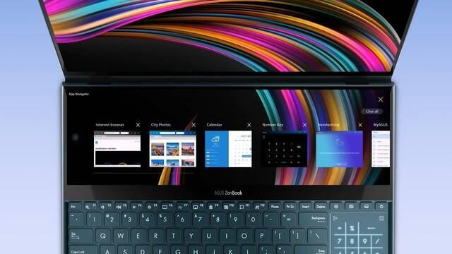 ASUS lanza su nuevo ZenBook Pro Duo UX581 con doble pantalla