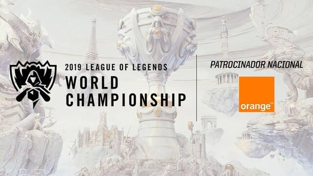 Orange patrocinará los Worlds de League of Legends 2019 en Madrid